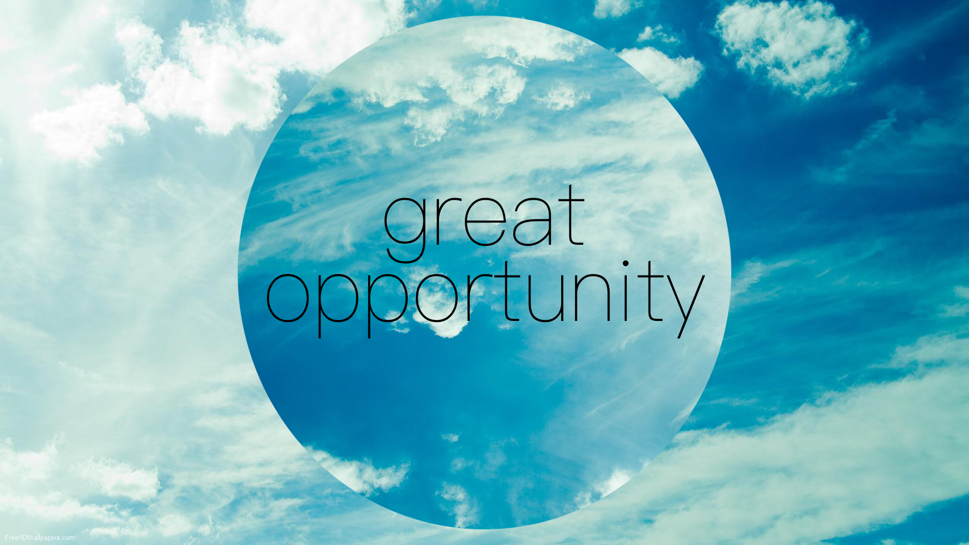 great-opportunity